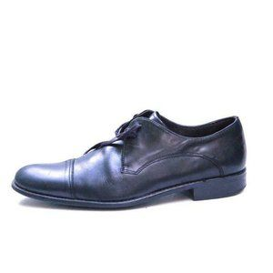 john varvatos dress shoes oxfords leather black 9.